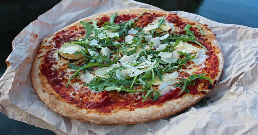 Pizza på Smögen